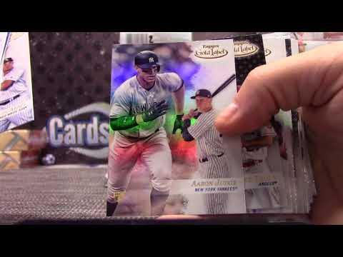 Luke's 2017 Topps GOLD Label Baseball Box Break