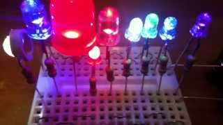 How To Light Up LEDs Without Resistor Math