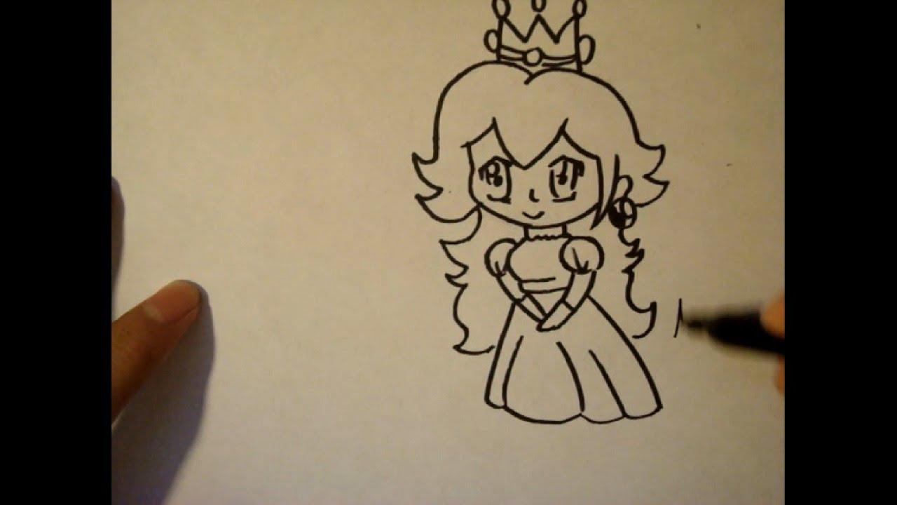 how to draw princess disney