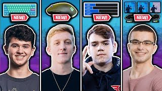 Bugha's NEW Keyboard, Mongraal's UPDATED Settings, Tfue's NEW Mouse & NickEh30's Triple Edit Binds!
