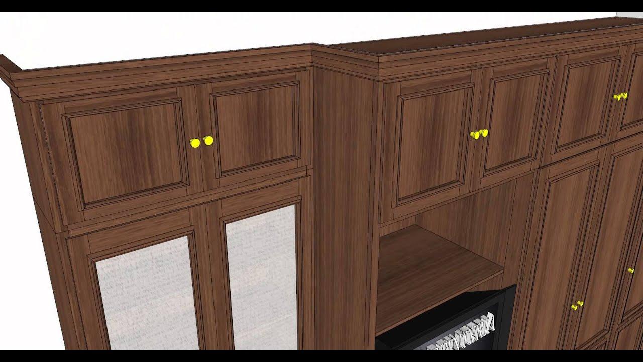 Mueble armario para salon carpinteria santa clara youtube - Carpinteria santa clara ...
