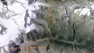 Parcours de la Patrouille des Glaciers