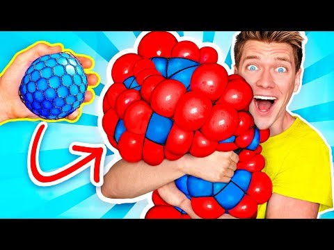 Download 10 Weird Stress Relievers For Back To School! Learn How To Diy Squishy Slime School Supplies Prank Mp4 baru