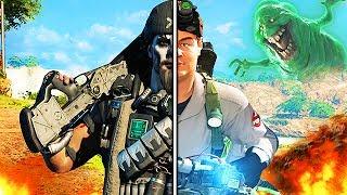 Black Ops 3 - Ninja Montage! (Epic Ghost Busters Special) | Ninja Defuses, Trolling, Funny Skits!