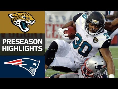 Jaguars Vs Patriots Nfl Preseason Week 1 Game Highlights