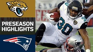 Jaguars vs. Patriots | NFL Preseason Week 1 Game Highlights