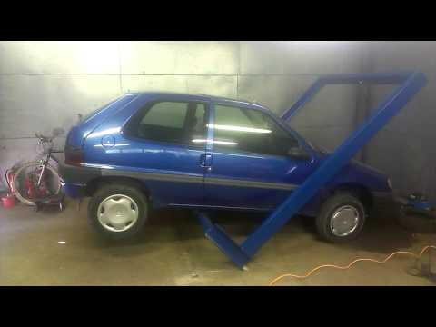 UNCONVENTIONAL CAR LIFTING