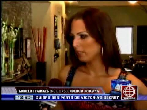 Modelo transgénero de origen peruano podría ser un ángel de Victoria's Secret