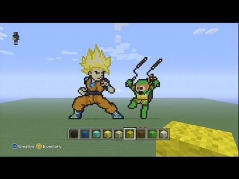 Minecraft Pixel Art ep 2- H2O  H20 Delirious Minecraft Skin
