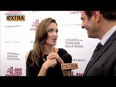 'Extra' Exclusive: Angelina Jolie on Directing, Family and Being a 'Closet Geek'
