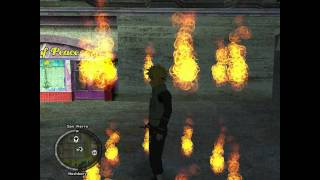 GTA SA - Fire Soul Guardian Mod (Fire Barrier)