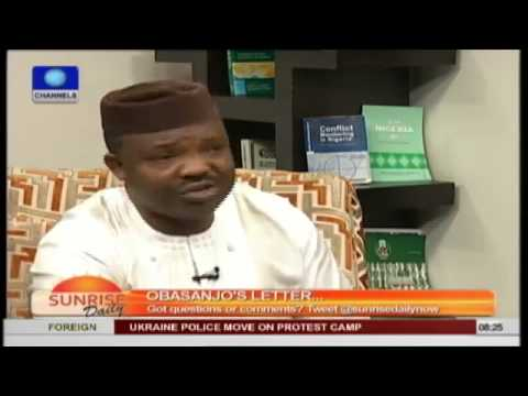 OBJ's Letter: The Presidency Must Respond To These Allegations -- Odumakin PT2
