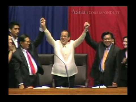 Philippine Congress proclaimes Benigno Aquino III as new president