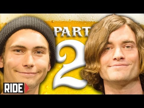 Josh Harmony &amp; Dakota Servold part 2: Man Baths, Trampoline Sex &amp; Leo Romero. Weekend Buzz ep. 55
