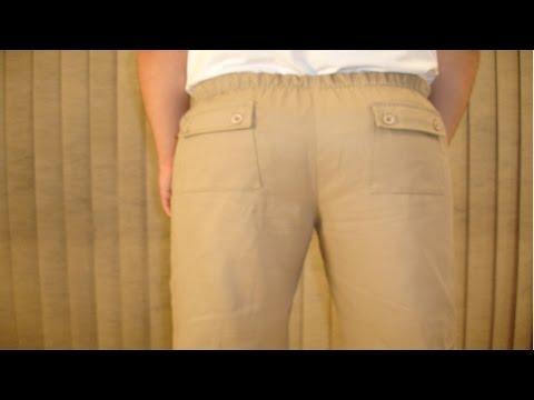 Curso Confec��o de Cal�as Masculinas - Tecidos