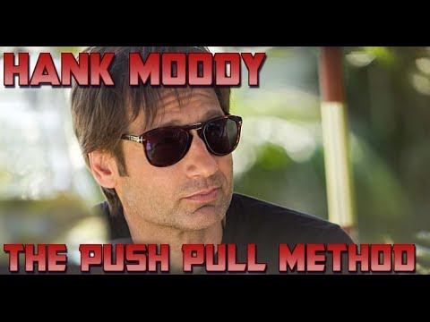 The Alpha Male: Hank Moody works his magic on Ali. (S06E04)
