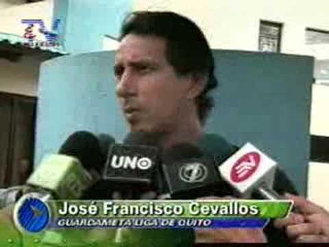 Liga de Quito y Deportivo Quito