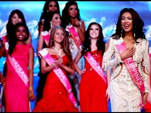 Miss Tourism International 2013 Crowning Moment - Miss Philippines Angeli Dione Gomez