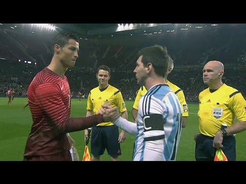 Cristiano Ronaldo vs Argentina (Friendly) 14-15 HD 1080i