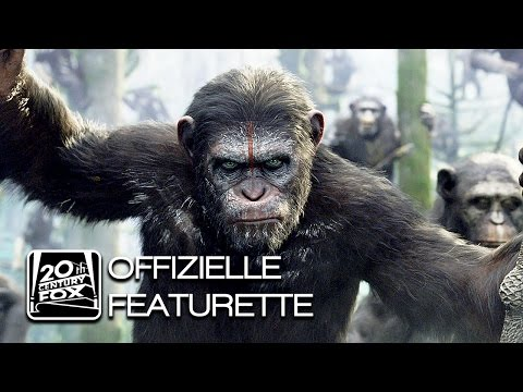 Planet der Affen - Revolution | Aufbau des Sets | Featurette Deutsch HD