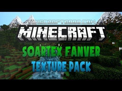 SOARTEX FANVER.....TEXTURE PACK REVEIW 1.6.4