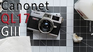 Canonet QL17 GIII From eBay - Clean Up
