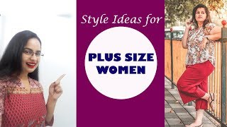 Style Guide for plus size Women   For Apple,Pear and Hourglass bodies   In Hindi  English subtitles