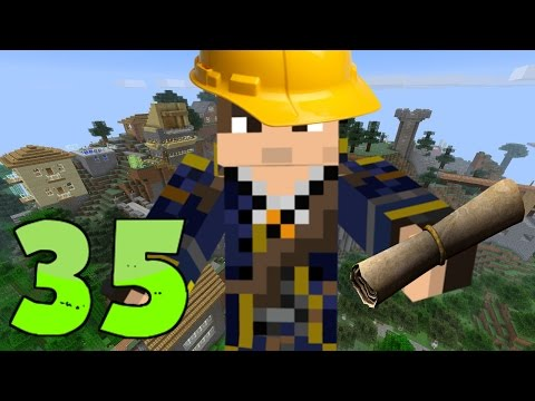 HEAVY CONSTRUCTION!! | Minecraft Epic Modpack | Part 35