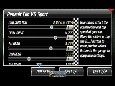 Drag Racing : Level 2 Boss (Renault Clio - Not Best Time Possible ...
