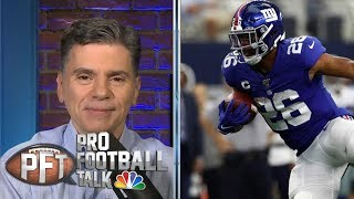 More likely: Will Saquon Barkley have another 11-rush game | Pro Football Talk | NBC Sports