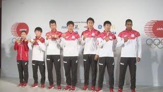 山県選手「勝ってうれしい」