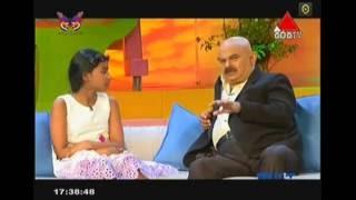 Nishi Uggalle at Sirasa TV Poddange Weda program