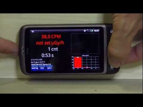 RadioactivityCounter for Android - REAL working Geiger counter + 10Sv/h Image
