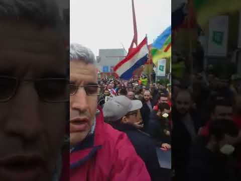 مسيرة تخليد ذكرى الشهيد محسن فكري بمدينة روتردام الهولاندية