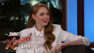 Karen Gillan Does Britney Spears Impression & Talks Avengers