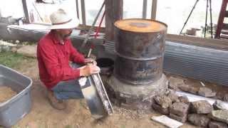 Building a Rocket Mass Heater
