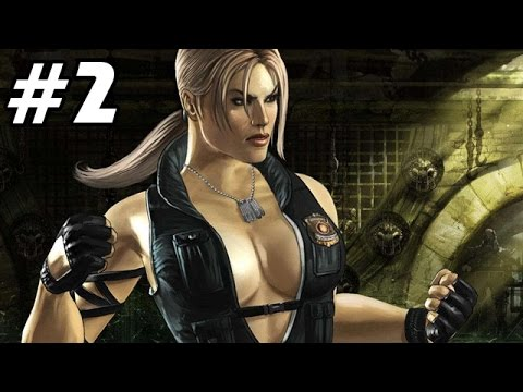 Let's Play Mortal Kombat 9 Story Mode Deutsch #02 - Sonya Blade