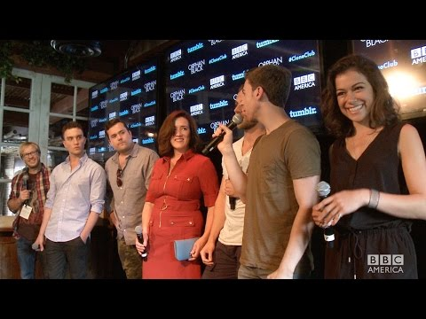 TATIANA MASLANY & ORPHAN BLACK Cast Surprise Fans at #CloneClub Meetup at Comic-Con 2014