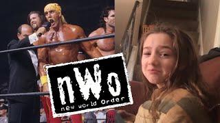 Kids react to Hulk Hogan NWO heel turn on WCW