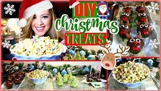 DIY CHRISTMAS TREATS | QUICK & EASY HOLIDAY PARTY TREATS