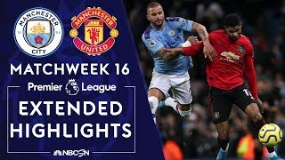 Manchester City v. Manchester United | PREMIER LEAGUE HIGHLIGHTS | 12/07/19 | NBC Sports