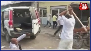 Family Dispute Comes Out In The Open At Hathras, UP