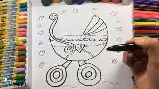 Bài Hát Gọi Trâu ♥♥ Cắt ỏ Trâu Ăn ♥♥ Nhạc Thiếu Nhi Vui Nhộn, Hướng Dẫn Bé Vẽ Chiếc Nôi