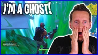 Being a Ghost in Fortnite!