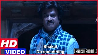 Lingaa Tamil Movie Scenes HD | Rajinikanth opens the locked temple | Anushka
