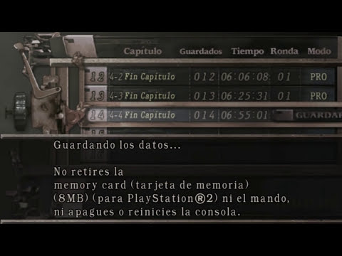 Resident evil 4 Profesional NO DAMAGE Capitulo 4-4