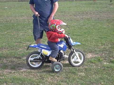 Yamaha Motorcycle Training Wheels