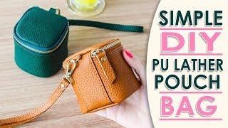 DIY MINI LOVELY PURSE BAG TUTORIAL // Cute Coin Pouch Card Holders