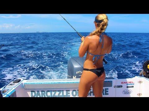 Sailfish & Tuna Offshore Girl Tournament Fishing Video