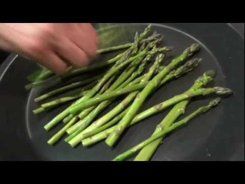 Recetas de cocina ROLLITOS DE POLLO con esparragos y jamon
